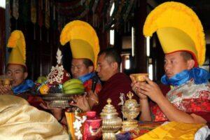 Religious ceremony Mongolia