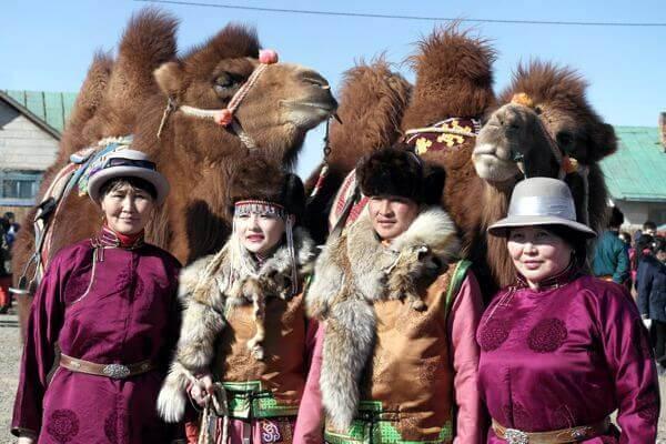Nomads at Camel Festival